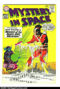 Silver Age (1956-1969):Science Fiction, Mystery in Space #69 Adam Strange (DC, 1961) Condition: FN/VF. Featuring Adam Strange. Cover and interior art by Carmine Inf...