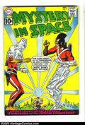 Silver Age (1956-1969):Science Fiction, Mystery in Space #71 Adam Strange (DC, 1961) Condition: VG/FN. Featuring Adam Strange, with cover and interior art by Carmin...