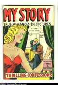Golden Age (1938-1955):Romance, My Story #6 (Fox Features Syndicate, 1949) Condition: VG-. SordidFox romance. Overstreet 2003 VG 4.0 value = $20....