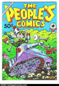 Modern Age (1980-Present):Alternative/Underground, The People's Comics nn (Golden Gate, 1972) Condition: VF/NM.Fifty-cent edition; death of Fritz the Cat story. Art and stori...