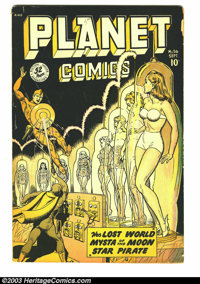 Planet Comics #56 (Fiction House, 1948) Condition: GD/VG. Matt Baker, George Evans, Graham Ingels, and Maurice Whitman a...