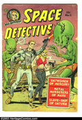 Golden Age (1938-1955):Science Fiction, Space Detective #2 (Avon, 1951) Condition: GD+. Tales from theShadow Squad story. Wally Wood and Joe Orlando cover art. Ins...