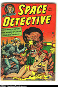 Golden Age (1938-1955):Science Fiction, Space Detective #3 (Avon, 1952) Condition: GD/VG. Everett RaymondKinstler cover art. Overstreet 2003 GD 2.0 value = $40; VG...