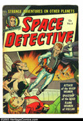 Golden Age (1938-1955):Science Fiction, Space Detective #4 (Avon, 1952) Condition: GD. Kinstler-ish coverart by Gerald McCann. Wasp Women cover and story. Inside c...