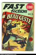 Golden Age (1938-1955):Classics Illustrated, Stories by Famous Authors Illustrated #5 Beau Geste (Seaboard Pub., 1950) Condition: VG/FN. Overstreet 2003 VG 4.0 value = $...