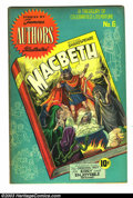 Golden Age (1938-1955):Classics Illustrated, Stories by Famous Authors Illustrated #6 Macbeth (Seaboard Pub.,1950) Condition: FN+. Overstreet 2003 FN 6.0 value = $99....