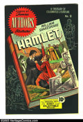 Golden Age (1938-1955):Classics Illustrated, Stories by Famous Authors Illustrated #8 Hamlet (Seaboard Pub.,1950) Condition: VF. William Shakespeare classic. Impossible...