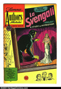 "Golden Age (1938-1955):Classics Illustrated, Stories by Famous Authors Illustrated #12 ""La Svengali"" (SeaboardPub., 1951) Condition: VF. Schrotter art. Overstreet 2003 ..."