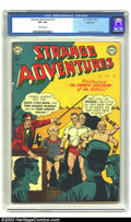 Golden Age (1938-1955):Science Fiction, Strange Adventures #15 Bethlehem pedigree (DC, 1951) CGC VF+ 8.5Off-white pages. Murphy Anderson, Carmine Infantino, and Gi...