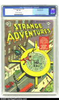 Golden Age (1938-1955):Science Fiction, Strange Adventures #36 White Mountain pedigree (DC, 1953) CGC VF+8.5 Off-white to white pages. Murphy Anderson, Carmine Inf...