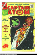 Golden Age (1938-1955):Horror, Strange Suspense Stories #75 and 77 Group - Captain Atom (Charlton,1965). Issue #75 grades FN+ and has the origin of Captai... (Total:2 Comic Books Item)