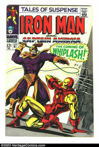 Tales of Suspense #97 (Marvel, 1968) Condition: VF+. Iron Man by Gene Colan; Captain America by Jack Kirby. Overstreet 2...