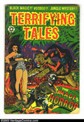Golden Age (1938-1955):Horror, Terrifying Tales #12 and 15 Group (Star Publications, 1953-54).Issue #12 grades GD/VG, issue #15 is FR. Both have cover art...(Total: 2 Comic Books Item)