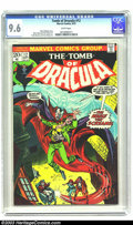 Bronze Age (1970-1979):Horror, Tomb of Dracula #12 (Marvel, 1973) CGC NM+ 9.6 White pages. MarvWolfman story. Gene Colan and Tom Palmer art. Frank Brunner...