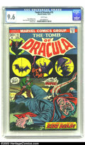 Bronze Age (1970-1979):Horror, Tomb of Dracula #15 (Marvel, 1973) CGC NM+ 9.6 White pages. MarvWolfman story. Gene Colan and Tom Palmer art. Gil Kane cove...