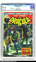 Bronze Age (1970-1979):Horror, Tomb of Dracula #16 (Marvel, 1974) CGC NM+ 9.6 White pages. MarvWolfman story. Gene Colan and Tom Palmer art. Overstreet 20...
