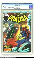 Bronze Age (1970-1979):Horror, Tomb of Dracula #20 (Marvel, 1974) CGC NM+ 9.6 Off-white to white pages. Marv Wolfman story. Gil Kane cover. Gene Colan and ...