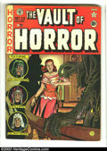 Golden Age (1938-1955):Horror, Vault of Horror #23 (EC, 1952) Condition: GD/VG. Art by JohnnyCraig, Jack Davis, and Graham Ingels. Overstreet 2003 GD 2.0 ...