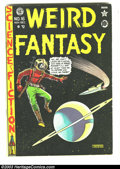 Golden Age (1938-1955):Science Fiction, Weird Fantasy 16 (#4) (EC, 1950) Condition: VG+. Fourth issuefeaturing art by Al Feldstein, Jack Kamen, and Joe Orlando. Us...