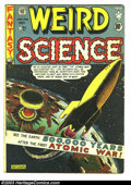 Golden Age (1938-1955):Science Fiction, Weird Science #5 (EC, 1951) Condition: GD+. Atomic explosion coverby Al Feldstein; interior art by Feldstein, Wally Wood, H...