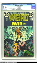 Bronze Age (1970-1979):Horror, Weird War Tales #16 (DC, 1973) CGC NM+ 9.6 White pages. ArnoldDrake and Jack Oleck stories. Alfredo Alcala and Alex Nino ar...