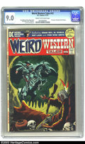 Bronze Age (1970-1979):Horror, Weird Western Tales #12 (DC, 1972) CGC VF/NM 9.0 Cream to off-whitepages. Neal Adams, Berni Wrightson, and Tony DeZuniga ar...