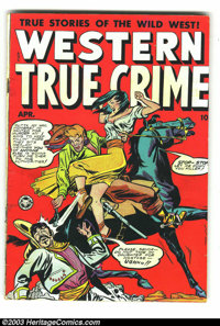"""Western True Crime #5 (Fox Features Syndicate, 1949) Condition: GD/VG. Featuring """"True Stories of the Wild West!&qu..."""