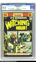 Bronze Age (1970-1979):Horror, Witching Hour #38 (DC, 1974) CGC VF/NM 9.0 Off-white pages. NickCardy cover. Murphy Anderson and Alex Toth art. 100 Page Su...
