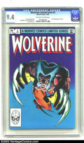 Modern Age (1980-Present):Superhero, Wolverine (limited series) #2 (Marvel, 1982) CGC NM 9.4 Off-whiteto white pages. First full appearance of Yukio; art by Fra...