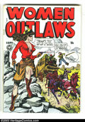 Golden Age (1938-1955):Crime, Women Outlaws #2 (Fox Features Syndicate, 1948) Condition: VG. Violent headlight cover. Overstreet 2003 VG 4.0 value = $114....