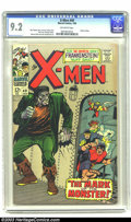 Silver Age (1956-1969):Superhero, X-Men #40 (Marvel, 1968) CGC NM- 9.2 Off-white pages. Roy Thomas story. George Tuska cover. Don Heck, George Tuska, Werner R...