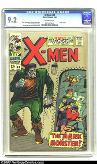 X-Men #40 (Marvel, 1968) CGC NM- 9.2 Off-white pages. Roy Thomas story. George Tuska cover. Don Heck, George Tuska, Wern...