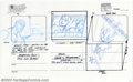 Original Comic Art:Miscellaneous, Animation Art - Original Storyboards for Spider-Man, Set C(undated). Twelve pages of storyboard art and story notes fromth...
