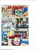 Original Comic Art:Miscellaneous, Production Art - Hand-Painted Color Guides for Spider-Man(undated). Three pages of hand-painted color guides from anuniden...