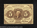 Fractional Currency:First Issue, First Issue 5c, Fr-1229, Extremely Fine-About Uncirculated. ...