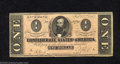 Confederate Notes:1864 Issues, 1864 $1 Clement C. Clay, T-71, Choice Crisp Uncirculated. This ...