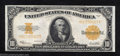 Large Size:Gold Certificates, 1922 $10 Gold Certificate, Fr-1173, Extremely Fine. The fold ...