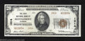 National Bank Notes:Alabama, Montgomery, AL - $20 1929 Ty. 2 The First NB Ch. # ...