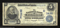 National Bank Notes:Maryland, Baltimore, MD - $5 1902 Date Back Fr. 590 The NB Ch. #...
