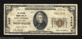 National Bank Notes:Maryland, Baltimore, MD - $20 1929 Ty. 1 The National Marine Bank