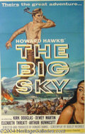 Autographs, The Big Sky Original 1-Sheet Litho (1952)