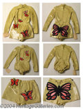 Autographs, Debbie Reynolds Gold Lame Outfit from A Bob Hope Special