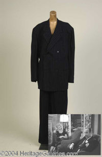Broderick Crawford Suit from Born Yesterday - Broderick Crawford wore this two-piece, double-breasted suit playing Harry...