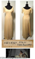 Autographs, Susan Hayward Nightgown Worn in Demetrius and the Gladiators (1954)