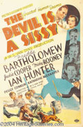 Autographs, The Devil Is A Sissy 1936 One Sheet Poster