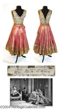 Autographs, Betta St. John Dance Outfit Worn in Dream Wife (1953)