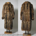 Autographs, Peter Lawford Racoon Coat from Easter Parade (1948)