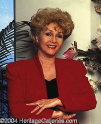 Dinner And A Drink With Debbie Reynolds - Hit the town with a Hollywood legend! The winner of this lot will be treated t...