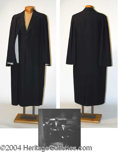Autographs, John Sutton Period Cape Coat Worn in The Fan (1949)