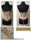 Autographs, Betty Grable Corset Worn in The Farmer Takes A Wife (1953)